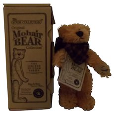 Boyds Collection Miniature Mohair Bear w/ box