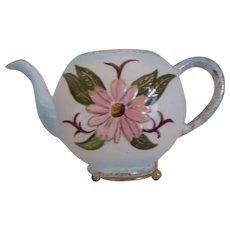 Teapot shaped wall pocket