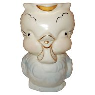 Baby bird  pitcher Shawnee Pottery