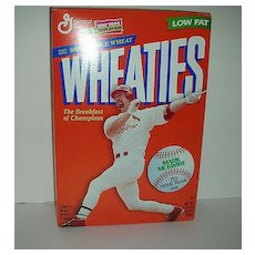 Mark McGwire Wheaties unopened cereal box
