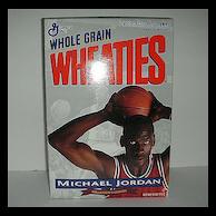 Michael Jordon Wheaties Unopened Cereal Box