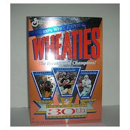 Super Bowl 30th Anniversary Starr, Bradshaw, Aikman Cereal box