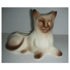 Siamese cat  Sna pottery planter