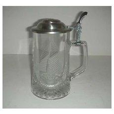 Old Spice Glass sailboat  mug
