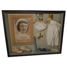 Vanmark  Nurse  Display Shadow Box Frame