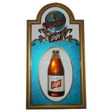 1977 Schlitz  beer  bottle  3 D sign.