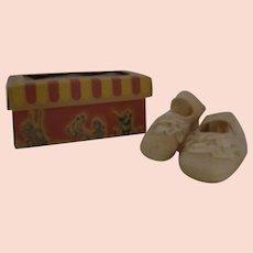 Baby shoes w/  circus box Japan