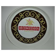 13 inch Budweiser tray  with A and eagle