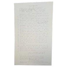 Civil War Widow's Pension Plea for Private Archibald McMullan New York Vols  36th Regiment