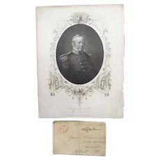 Stampless Cover 1833 New Post Office in North Carolina Andrew Jackson Winifed Scott