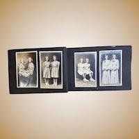 1920's Photo Albums of Identical Twins Doris & Lois Woerner AGE Progression