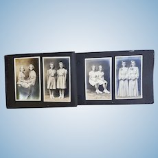 1920's Photo Albums of Identical Twins Doris & Lois Woerner AGE Progression