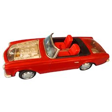 1967 Bandi Mercedes 250 SL Toy  Battery Operated Car