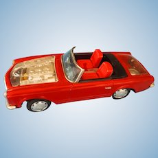 1967 Bandi Mercedes 250 SL Toy  Battery Operated Car
