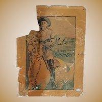 Original 1905 Buffalo Bill   William Cody Wild West Poster