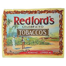 Original Poster for Redford's Tobacco Poster