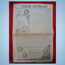 RARE Liberia Black Freedom Newspapers African Nationalist