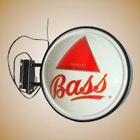 Bass Ale 2 Sided Globe Beer Bar Pub Sign, Man Cave,Pub,Bar