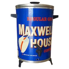 One Daddy-O 1950's Maxwell House Advertising Coffee Maker