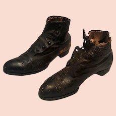 1890's Ladies Button Shoes Boots