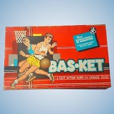 1955 Bas-Ket Basketball Game Cadaco Ellis Sports Classic