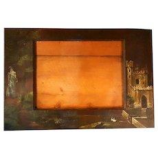 1888 Pouce de Leon Hotel St. Augustine,Florida Suite Hand-Painted Mirror