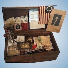 Civil War Confederate Archive Knox Family  1st Lt. J.D.Gaillard  South Carolina Regiment