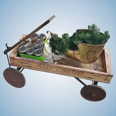 Early 20th Century Radio Coaster Wagon