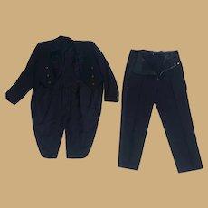 Circa World War 1  Thomas Edison Men's Tuxedo
