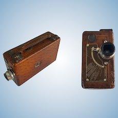 Rare Ostrich Skin Custom Cina Kodak 16mm Movie Camera