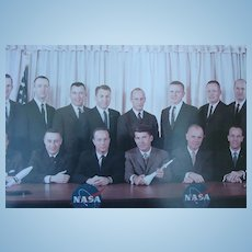 Original Photograph of Original Mercury Astronauts