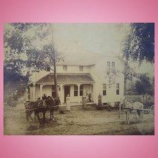 1880's Photo of John B.Rogers,Company Family Farm in New Jersey