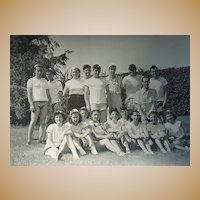 Photo Archive of Alfred Gwynne Vanderbilt and Young American Magazine Staff 1949 Picnic