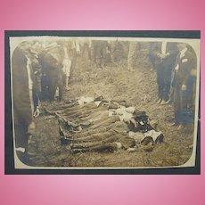 SCARCE C.1890's Photo of North Carolina Murdered Victims