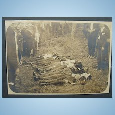 SCARCE C.1890's Photo of North Carolina Murdered Victims
