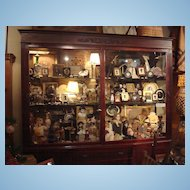 Tiffany c.1870's  Jewelry Store Display Case 8 Foot Tall