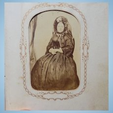Civil War Wheeler Family Photo Album with Soldiers & Mary Todd Lincoln