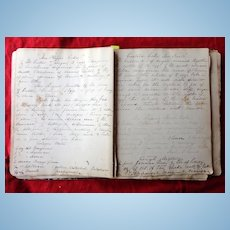 1870's Diary of Miss Alice Pertis 223 E.Price Street Germantown,Pa.