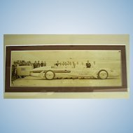 Sir Henry Seagrave Daytona Beach,Florida Sunbeam Racer Photo~1930 Original