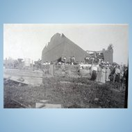 1899 New Richmond,Wisconsin Tornado Destruction Photograph