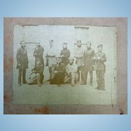 Early 1850's Albumen Photographs of Hythe,Kent England Armed Militia