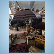 MUSEUM QUALITY Great Condition c.1860 Victorian Parasol Umbrella