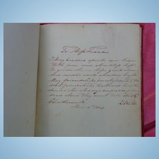 Diary of Francina C.Bryan Buffalo City,North Carolina 1850's