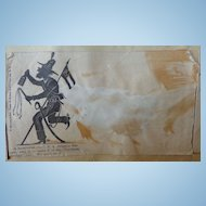 Civil War Confederate Alligator Rangers Cover Envelope