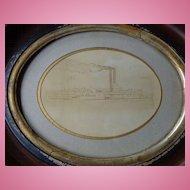 1856 Albumen Photo of Jacob Strader Riverboat Cincinnati,Ohio