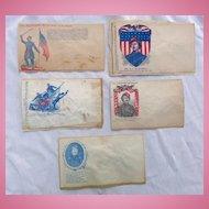 Original Civil War Colonel Ellsworth Patriotic Covers