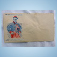 Patriotic Civil War Cover Sargent Brownell The Avenger of Col. Ellsworth