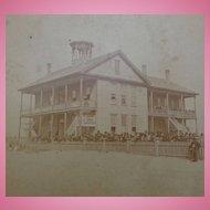 Stereoview of Jacksonville,Florida Colored Negro Stanton School