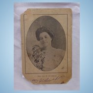 Cabinet Photo of Mrs. Ida B. Jefferson Conjure Witch Longview,Texas