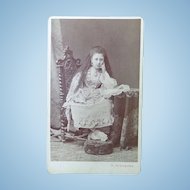 Rare CDV Photograph of Zena Zeina Pana Princess Egypt